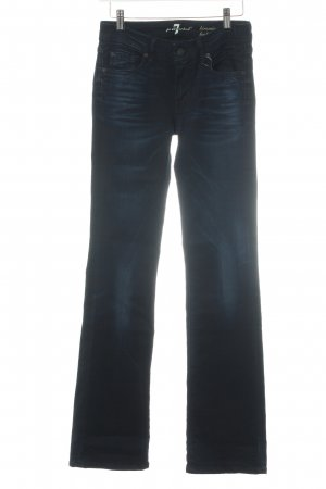 "7 For All Mankind Jeans bootcut ""kimmie bootcut"" bleu foncé"