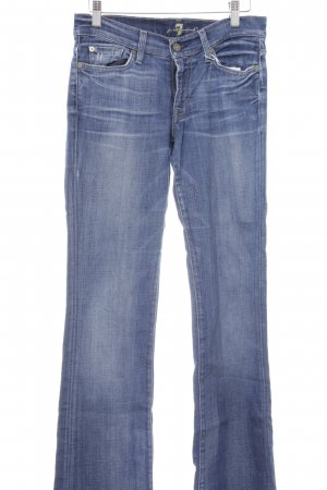 7 For All Mankind Boot Cut Jeans kornblumenblau Casual-Look