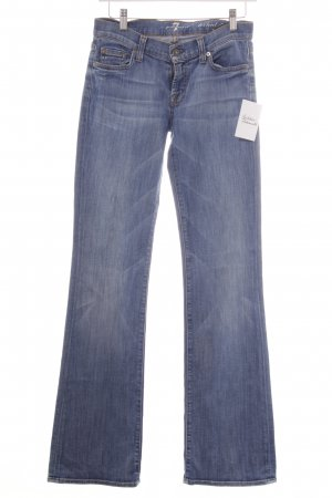 7 For All Mankind Boot Cut spijkerbroek korenblauw casual uitstraling