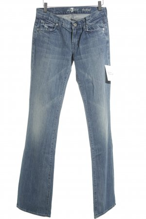 7 For All Mankind Boot Cut Jeans kornblumenblau klassischer Stil
