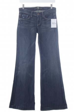 "7 For All Mankind Boot Cut Jeans ""low rise ginger"" dunkelblau"