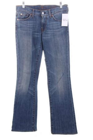 7 For All Mankind Boot Cut Jeans mehrfarbig 70ies-Stil
