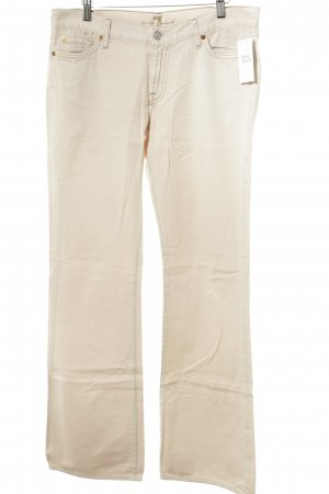 7 For All Mankind Vaquero de corte bota nude look casual
