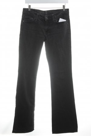 7 For All Mankind Boot Cut Jeans schwarz Casual-Look