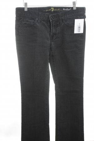 7 For All Mankind Jeans bootcut noir style mode des rues