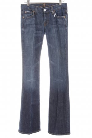 7 For All Mankind Boot Cut Jeans stahlblau Casual-Look