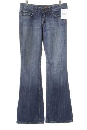 7 For All Mankind Boot Cut Jeans stahlblau Jeans-Optik