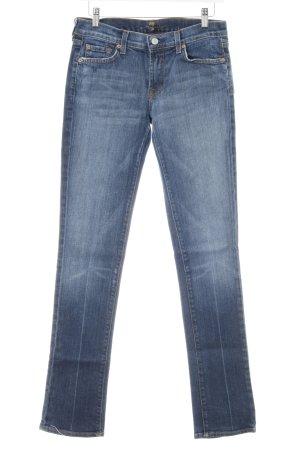 7 For All Mankind Jeans bootcut bleu acier Aspect de jeans