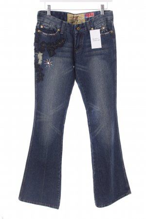 "7 For All Mankind Boot Cut Jeans ""The Great China Wall"" blau"