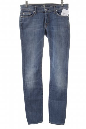 "7 For All Mankind Boot Cut spijkerbroek ""The skinny Bootcut"" staalblauw"