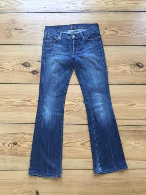 7 for all Mankind Bootcut Jeans – tolle Farbe!