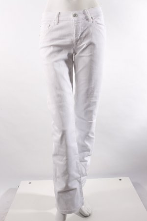 7 for all mankind Bootcut Jeans weiß