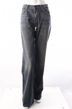 7 For All Mankind Bootcutjeans blau