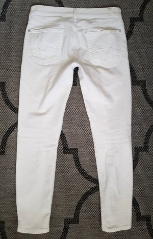 7 For All Mankind Boyfriend Jeans white