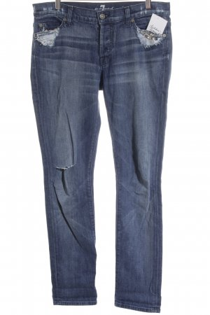 7 For All Mankind Vaquero boyfriend azul look de segunda mano