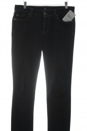 7 For All Mankind Boyfriendjeans dunkelblau Casual-Look