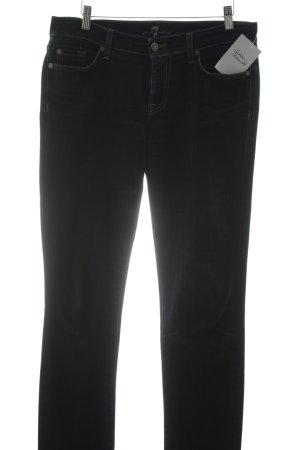 7 For All Mankind Boyfriend Jeans dark blue casual look