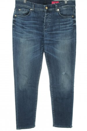 "7 For All Mankind Boyfriendjeans ""Josefina"" dunkelblau"