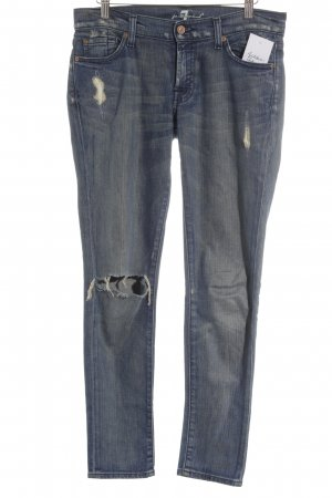 "7 For All Mankind Vaquero boyfriend ""Roxana flood"" gris pizarra"