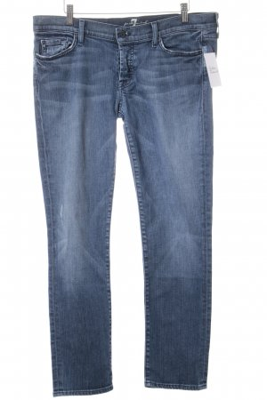 7 For All Mankind Boyfriendjeans stahlblau-himmelblau Casual-Look