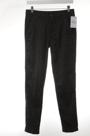 7 For All Mankind Pantalone a pieghe grigio-verde puntinato stile casual