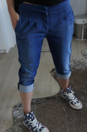 7 For All Mankind 3/4-jeans blauw