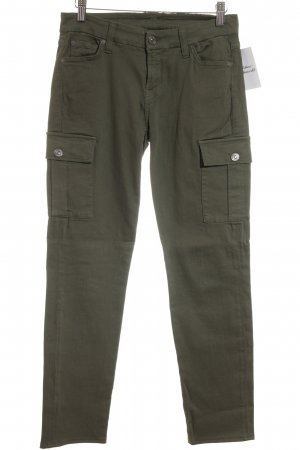 7 For All Mankind Cargohose khaki Street-Fashion-Look