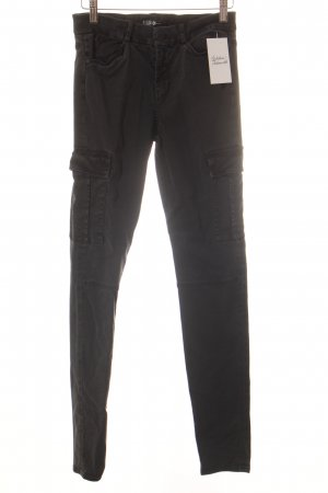 7 For All Mankind Cargohose schwarz Casual-Look