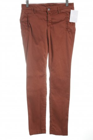 7 For All Mankind Chinohose dunkelorange