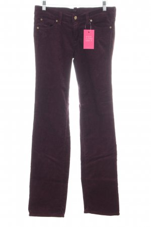7 For All Mankind Corduroy broek lila casual uitstraling