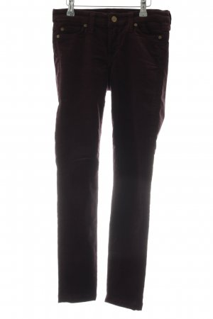 7 For All Mankind Corduroy broek bruin casual uitstraling