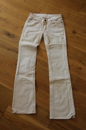 7 FOR ALL MANKIND Cordhose in cremeweiss