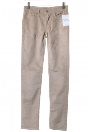 7 For All Mankind Cordhose sandbraun Casual-Look