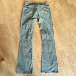 7 For All Mankind Boot Cut Jeans khaki