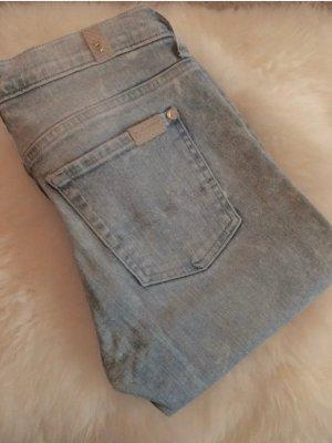 7 for all mankind Damen Skinny Jeans Hellblau Gr. 27