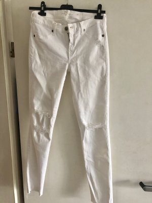 7 For All Mankind Jeans skinny bianco