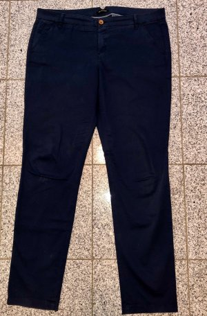 7 For All Mankind Chino azul oscuro Algodón