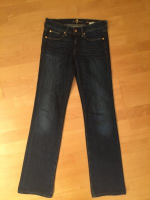 7 for all mankind dunkelblaue Jeans