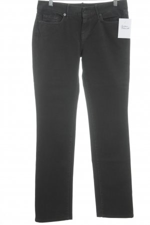 7 For All Mankind Five-Pocket-Hose grau Casual-Look