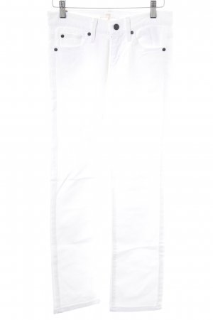 7 For All Mankind Pantalone cinque tasche bianco stile casual