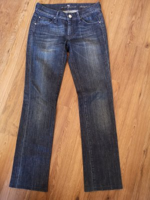 7 For All Mankind Jegging donkerblauw