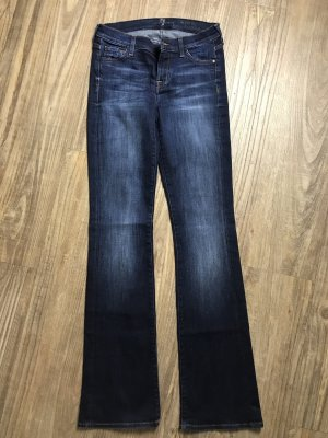 7 For All Mankind Boot Cut Jeans blue