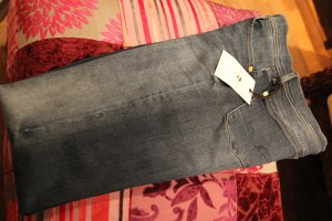 7 For All Mankind Jeans svasati blu