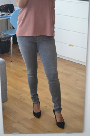 7 for all mankind, Guenevere Skinny grau, Gr. 25