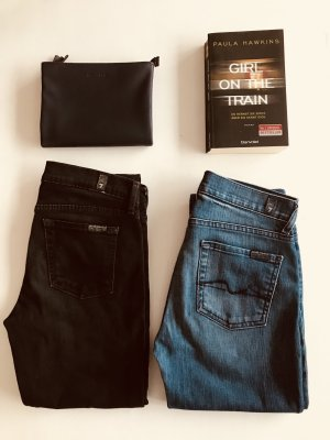 7 for all mankind high rise Roxanne Jeans 25
