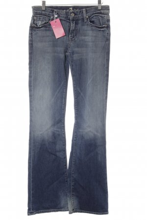 7 For All Mankind Jeans a vita alta blu stile casual