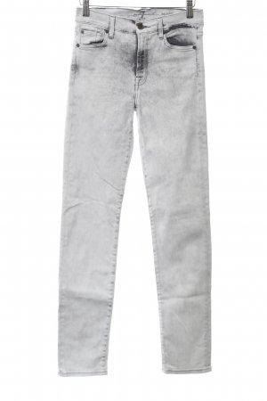 7 For All Mankind Vaquero de talle alto multicolor Apariencia vaquera