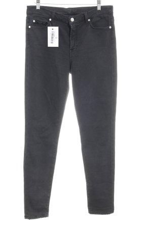 7 For All Mankind Jeans a vita alta nero stile casual