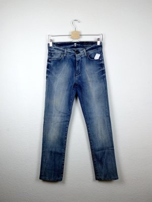 7 for all mankind high waist jeans XS S 34 -NEU- blau blogger fashion
