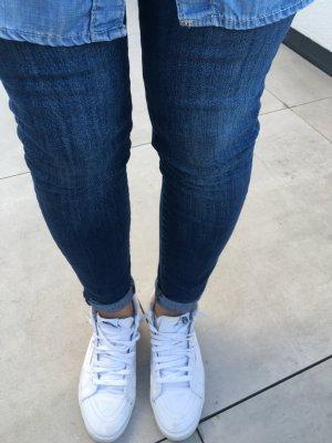 7 For All Mankind High Waist Skinny Jeans wie neu